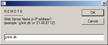 gUp - g-link CMS indbyggede FTP-uploader, trin 2...